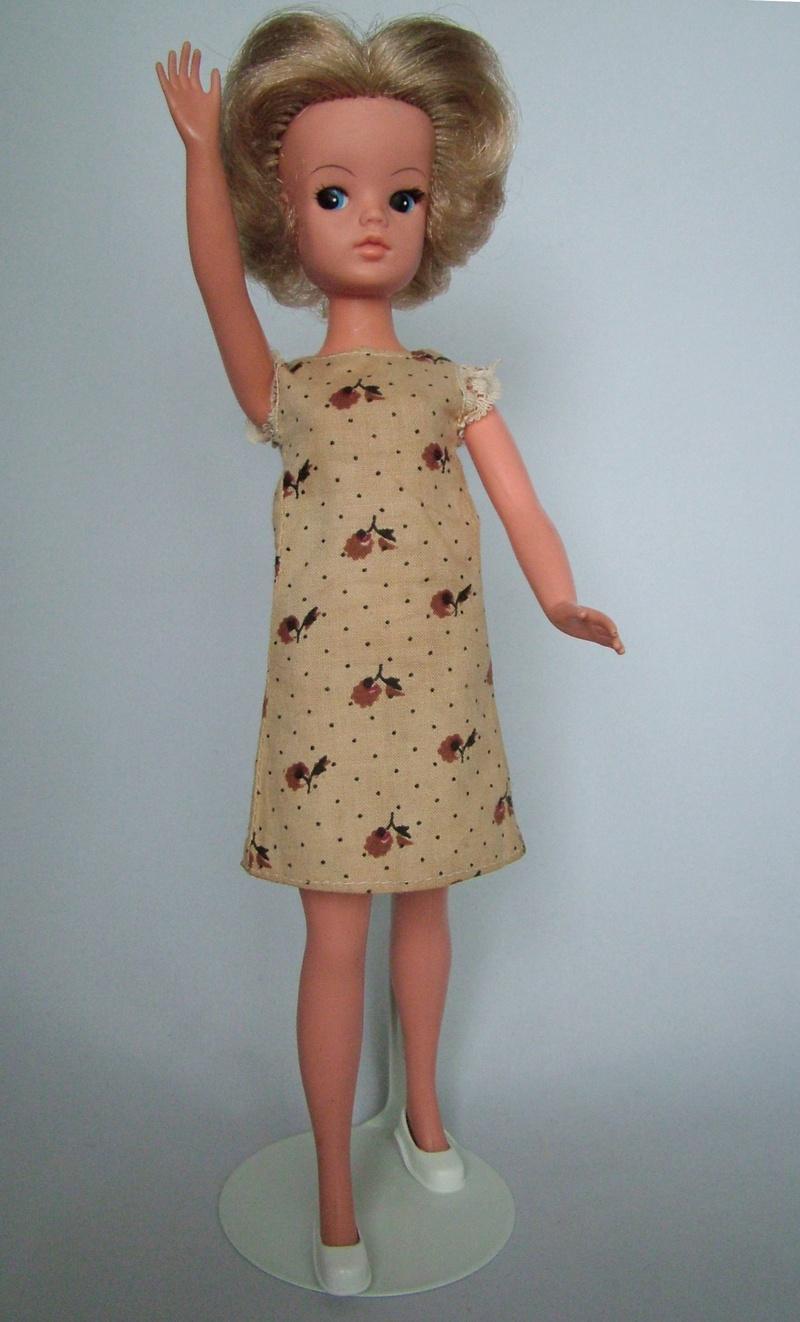 Sindy Bright Vintage Sindy Doll Shoes Black Tassel Court Shoes Fashionable Patterns